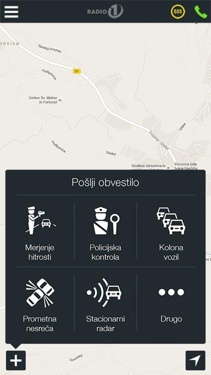 AMZS, prometne informacije screenshot-4