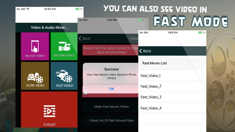 Slow and Fast Motion Movie & Video Editor by oTech