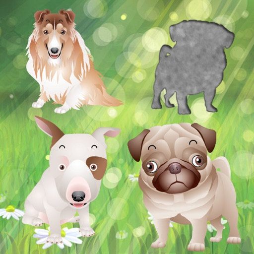 Puppy Dog Puzzles for Toddlers