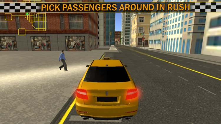 Modern Taxi Cab Simulator 2016 screenshot-3