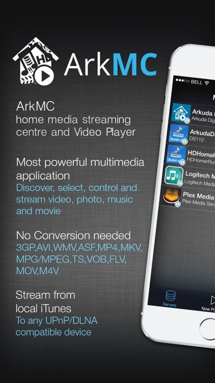ArkMC media streaming server and HD video player screenshot-0