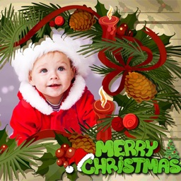 Christmas Photo Frames & Photo Editor
