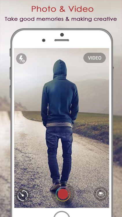 Selfie Shot : gif maker and video maker with best filters, effects and countdown timer selfie screenshot-3