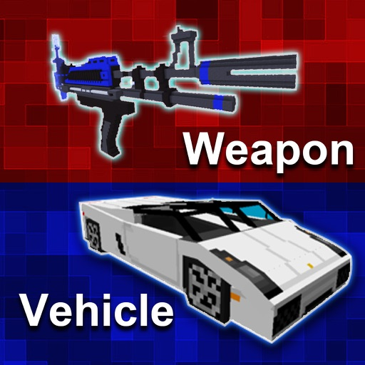 MC Vehicle & Weapon Mod - Best Game Modifier for Minecraft PC Edition
