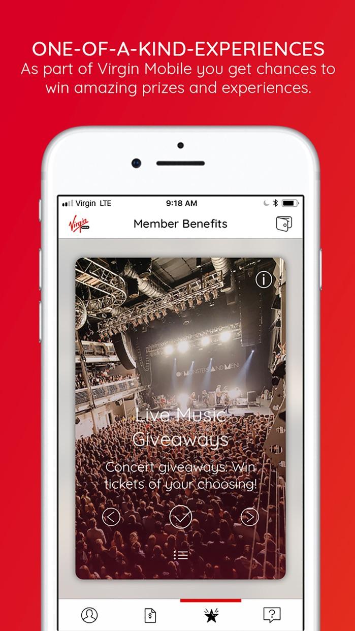 Virgin Mobile USA Screenshot