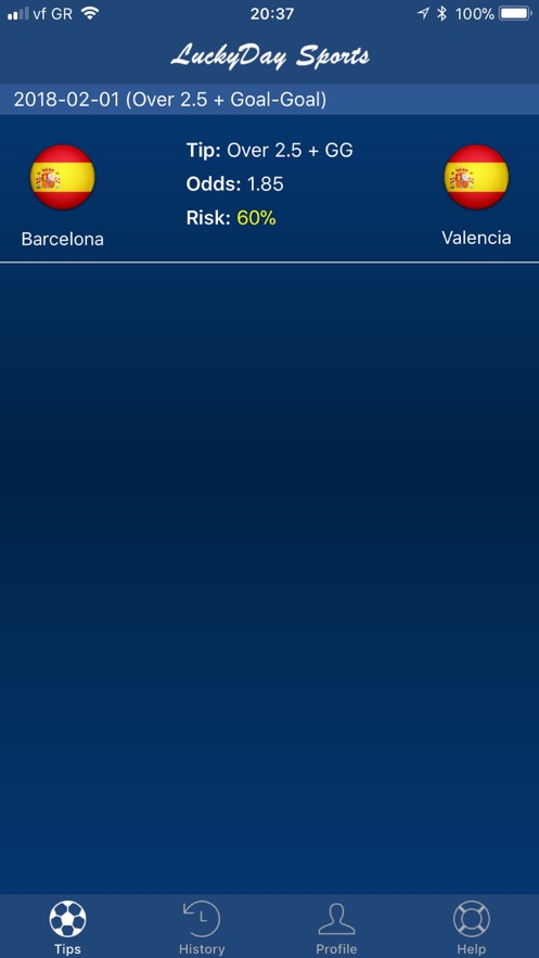 Lucky Day Sports】应用信息- iOS App基本信息|应用截图|描述|内