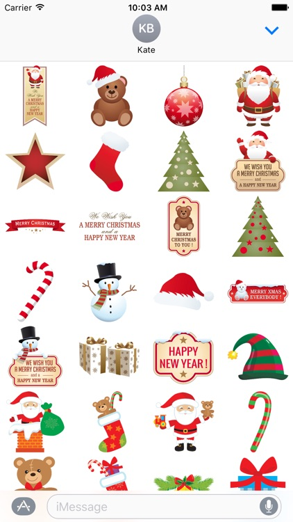 Christmas for Stickers