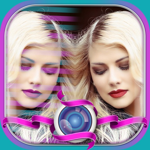 Mirror Reflection Photo Editor–Blend & Split Pics