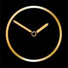 Gold Luxury Clock icon