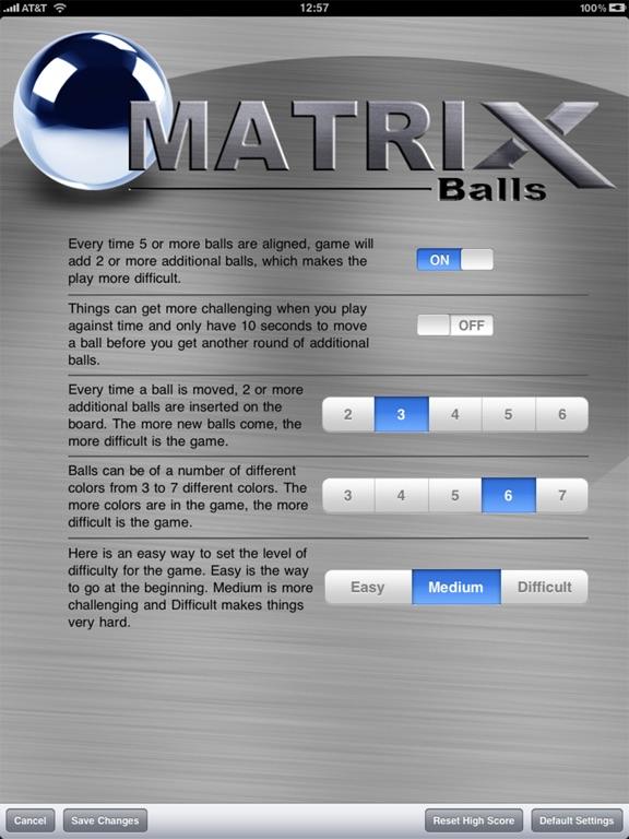 Скачать Matrix Balls