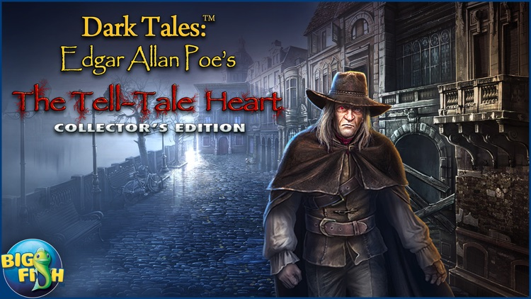 Dark Tales: Edgar Allan Poe's The Tell-tale Heart - A Hidden Object Mystery (Full) screenshot-4