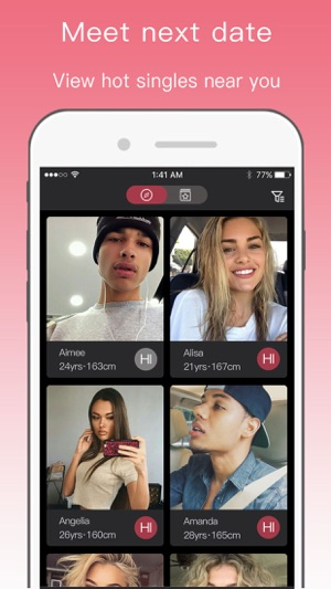 Hot or not hook up app