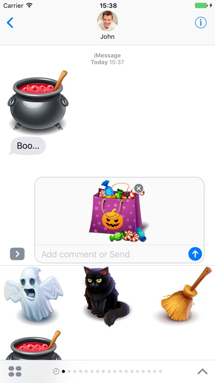 Halloween Pack 3 - Stickers for iMessage