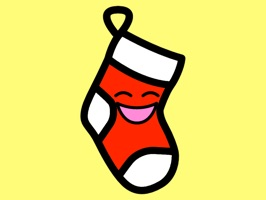 Stockings: Christmas Stocking Kawaii Emoji
