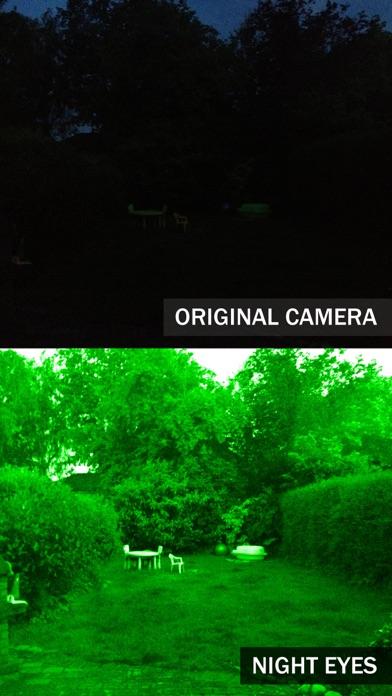 Screenshot for Night Eyes - Nachtsichtkamera in Germany App Store