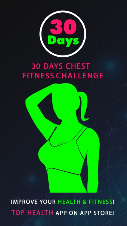 30 Day Chest Fitness Challenges Pro