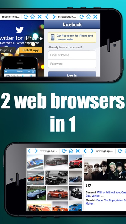 Double Browser Pro ( 2 in 1 )