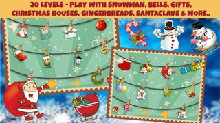 Christmas Shapes Puzzle - Educational Word Learning Game for Kids & Toddlers screenshot three