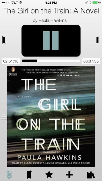 Bookmobile Audiobook Player screenshot-3