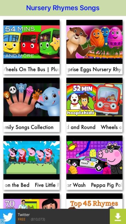 kids song(nursery rhymes)-learning videos