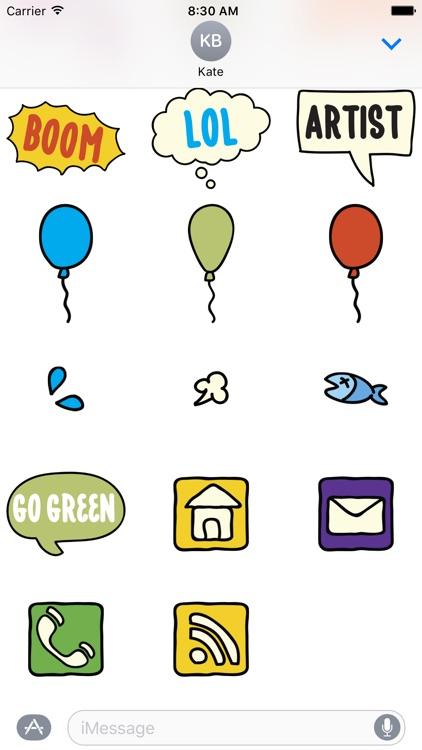 Fopi Paud 55+ Stickers screenshot-3