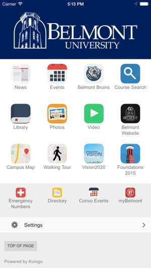 Belmont University on the App Store