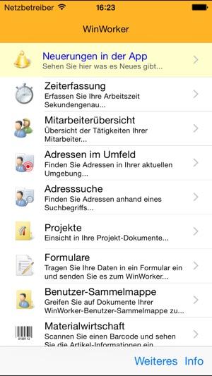 WinWorker im App Store