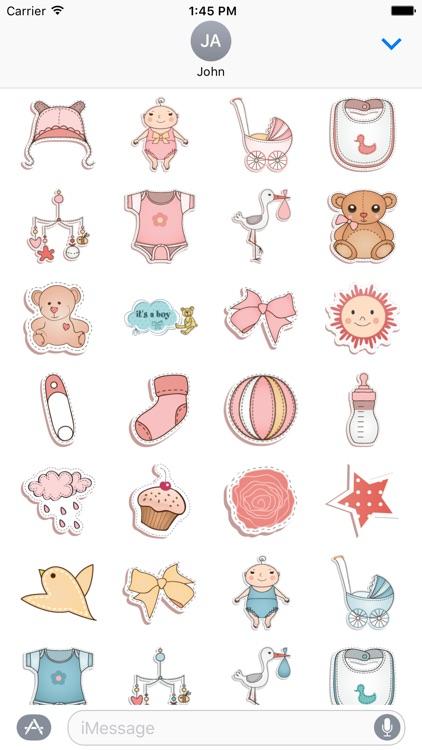 Baby Sticker Set