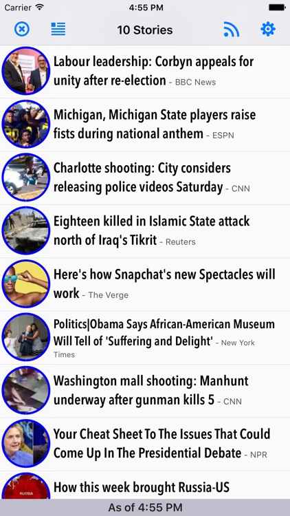 TopFeeder - Top news feeds... fast.