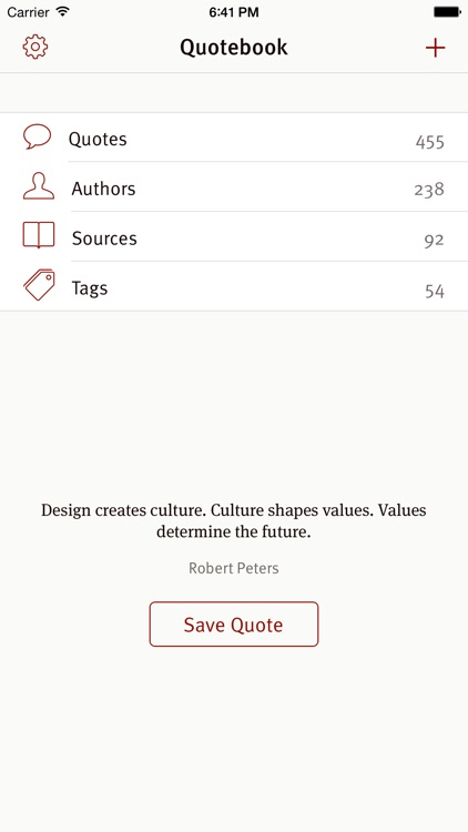 Quotebook — Notebook for Quotes screenshot-3