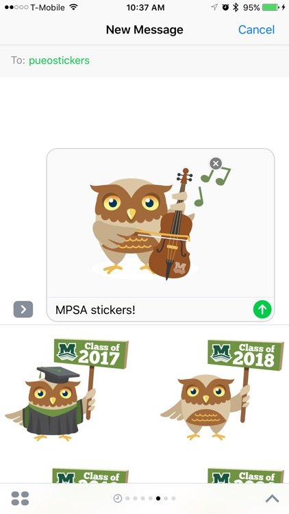 Pueo Stickers screenshot-4