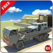 Army Warfare Transport Truck