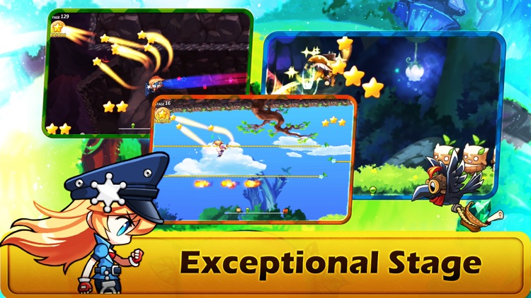 WIND runner adventure screenshot-3