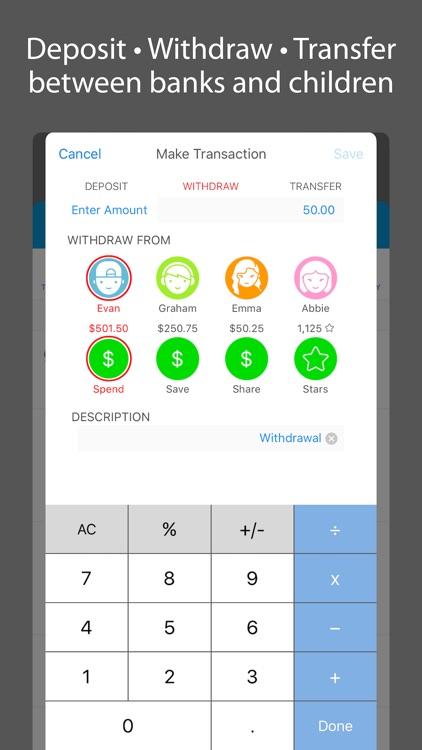 iEarn Lite: Allowance, Chores, Banks & Rewards screenshot-4