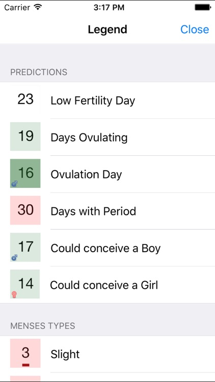 Period, Fertility and Ovulation screenshot-1