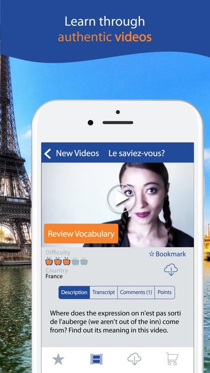 Learn French with Yabla screenshot-3