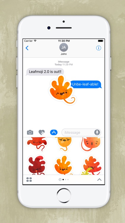 Leafmoji screenshot-1