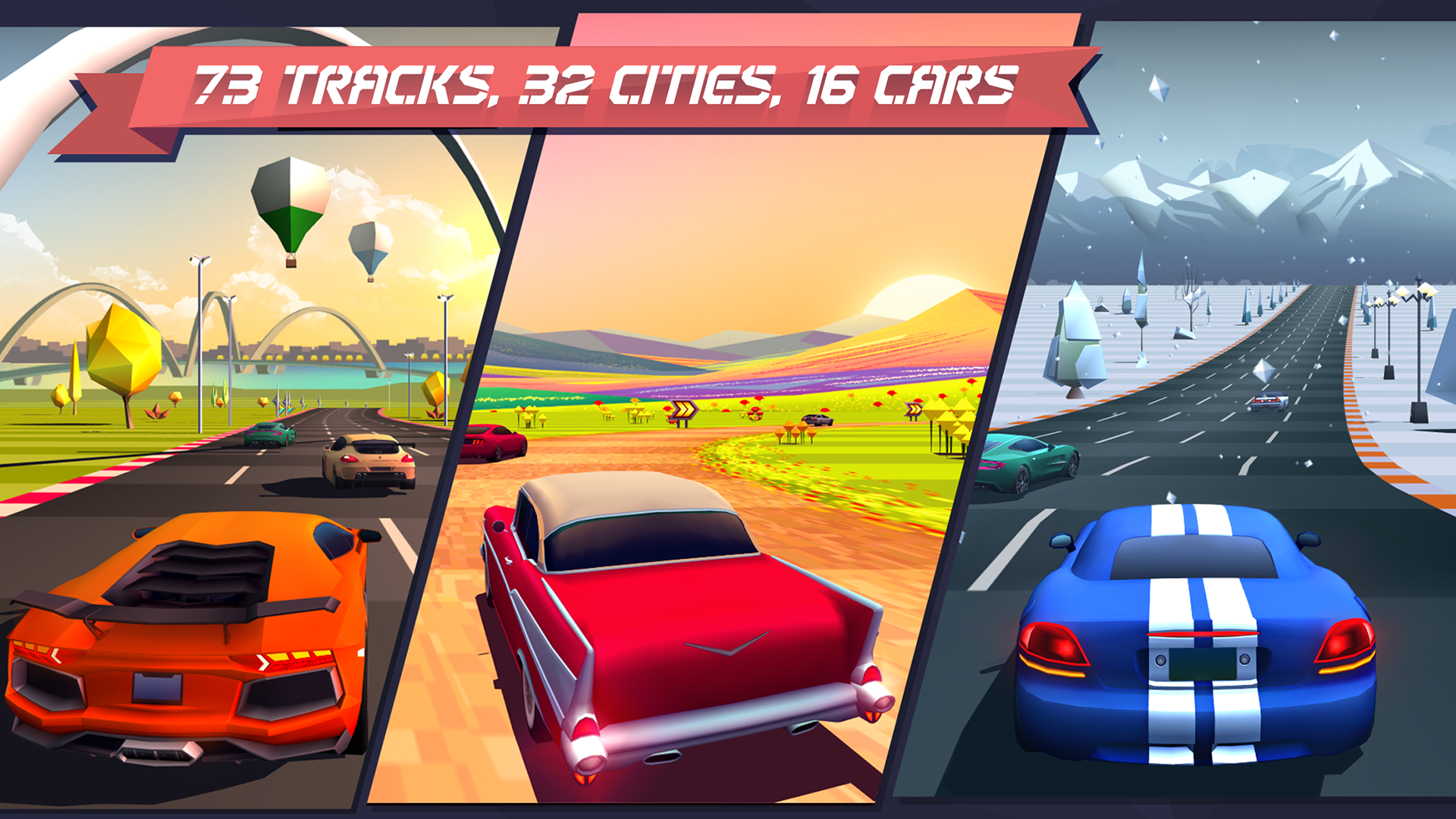 Horizon Chase - World Tour screenshot 13