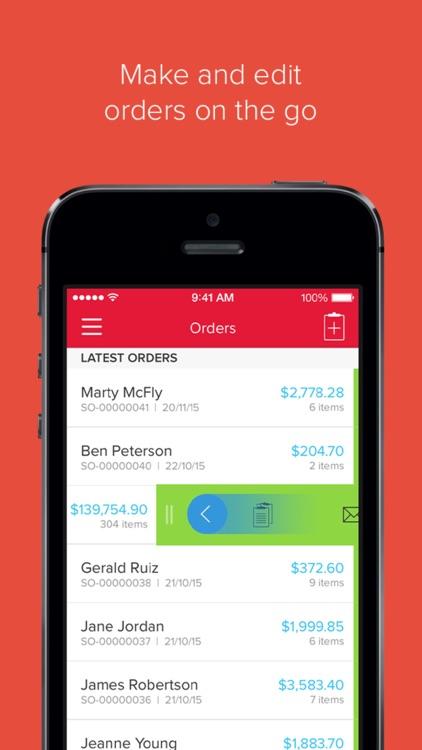 Unleashed Inventory Sales App screenshot-0