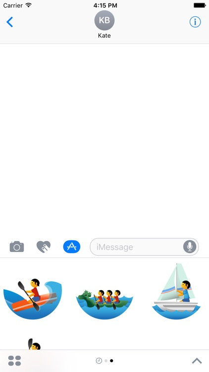 Water Sports Stickers for iMessage