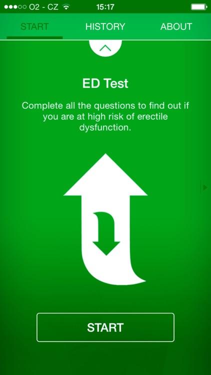 ED Test - risk calculator of erectile dysfunction screenshot-3
