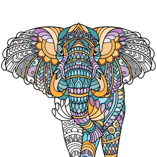 Adult Animal Coloring Pages