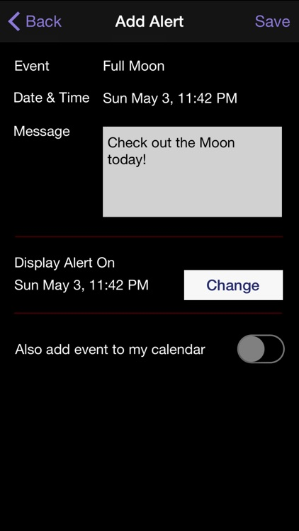 Moon Calendar screenshot-4