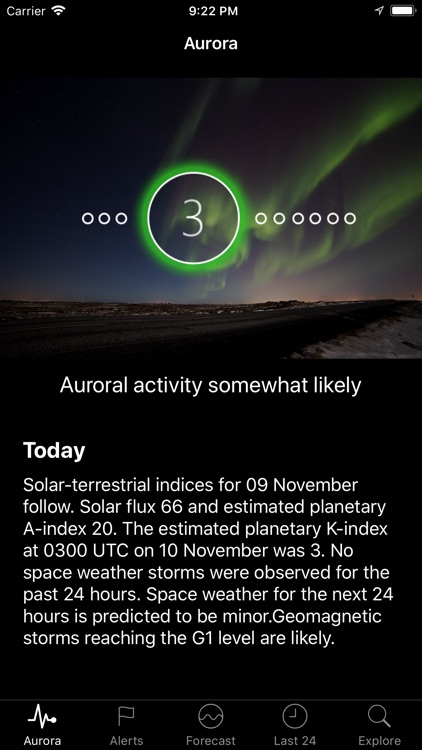 Space Weather App