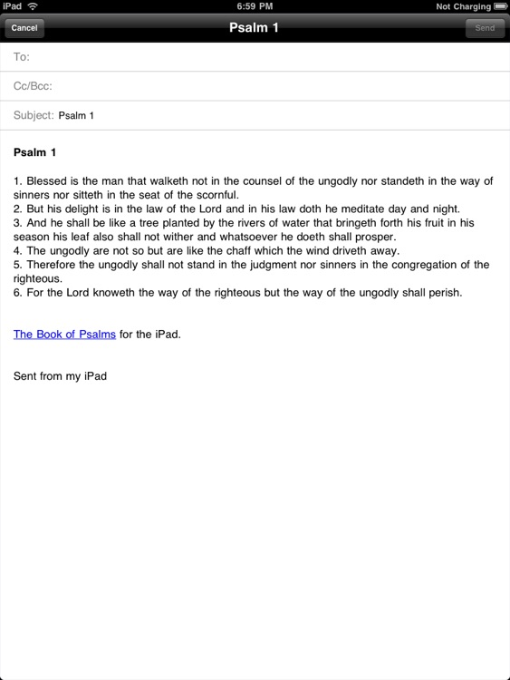 The Book of Psalms for iPad screenshot-2