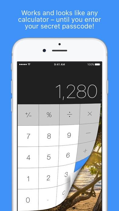 Secret Photo Calculator Plus app image