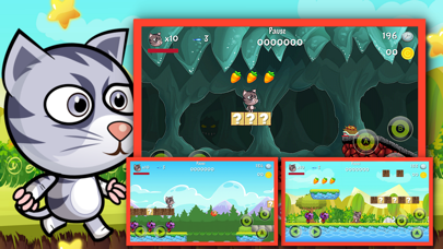 Super My Cat Hero : A Funny Fight adventure game for kids screenshot two