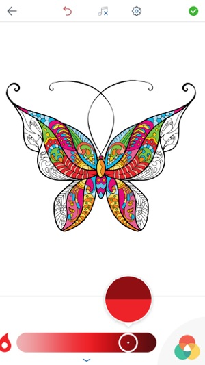 Butterfly Colouring Book