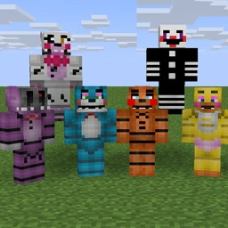 free Skin for Minecraft for Five Nights at Freddy's theme version