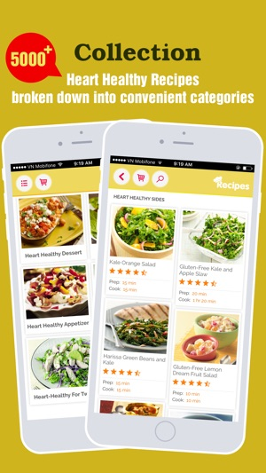 Heart healthy recipes pro best food for heart on the app store screenshots forumfinder Gallery